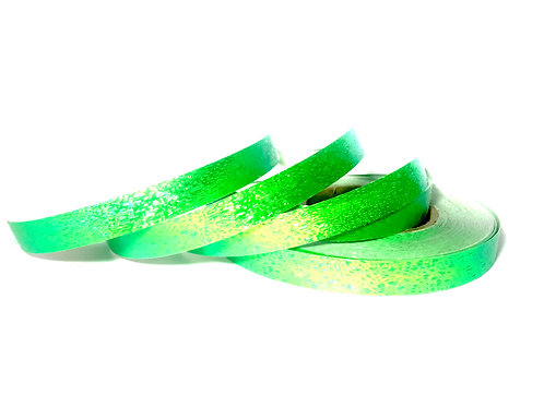 Key Lime Green Textured Taped Hoop