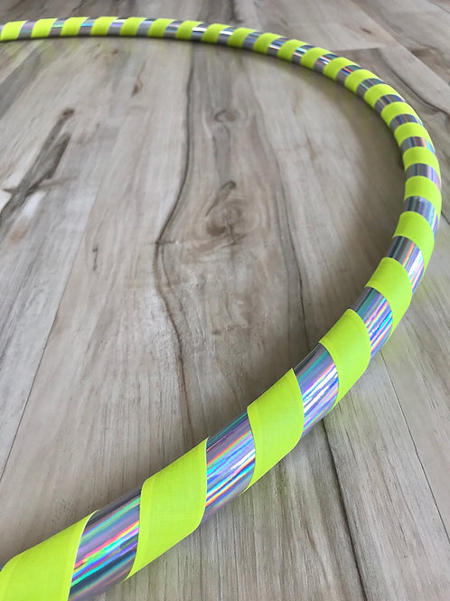 'Electric Rainbow' Beginner/Fitness Hoop