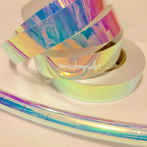 Indigo Sky Color Shifting Taped Hoop