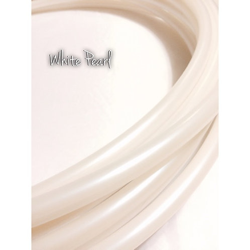 """11/16"""" White Pearl Polypro Hoop"""