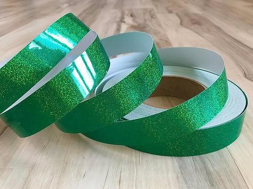 Emerald Green Sequin Taped Hoop