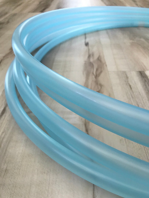 """5/8"""" Translucent Blue Colored Polypro Hoop"""