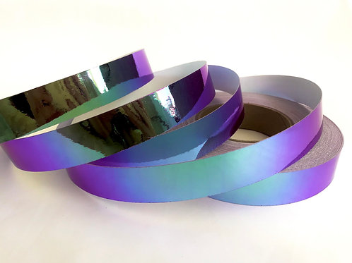 Purple Iridium Color Shifting Taped Hoop
