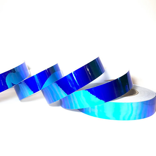 Blue Ocean Color Shifting Taped Hoop