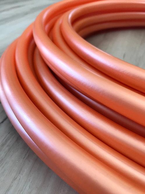 Metallic Orange Colored Polypro Hoop