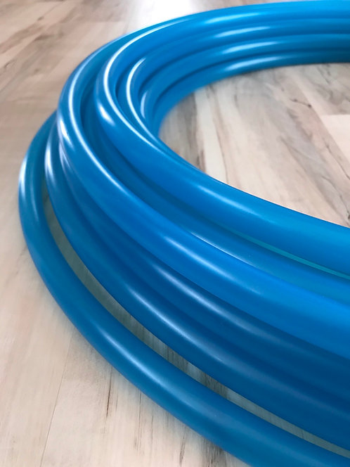 UV Blue Agate Colored Polypro Hoop