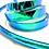 Thumbnail: Blue Lagoon Color Shifting Taped Hoop