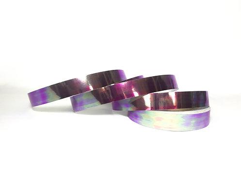 Purple Scarab Taped Hoop