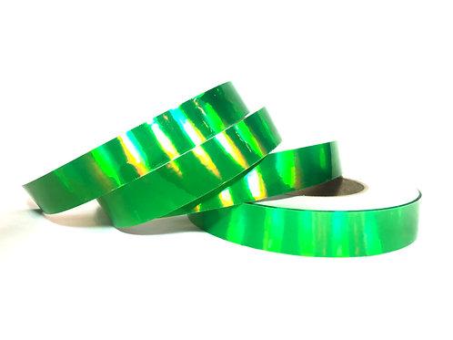 Green Rainbow Taped Hoop