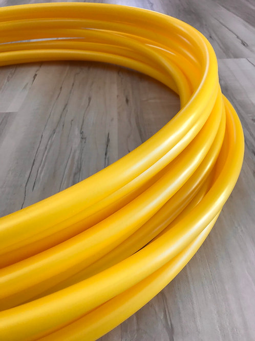 """READY TO SHIP: 32"""" 5/8"""" Sunflower Yellow Polypro Hoop"""