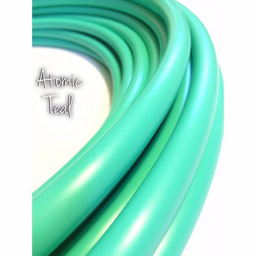 """READY TO SHIP: 34"""" 5/8"""" Atomic Teal Polypro Hoop"""