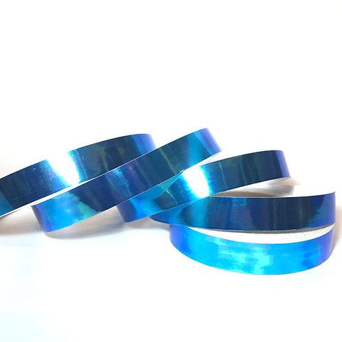 Blue Scarab Taped Hoop