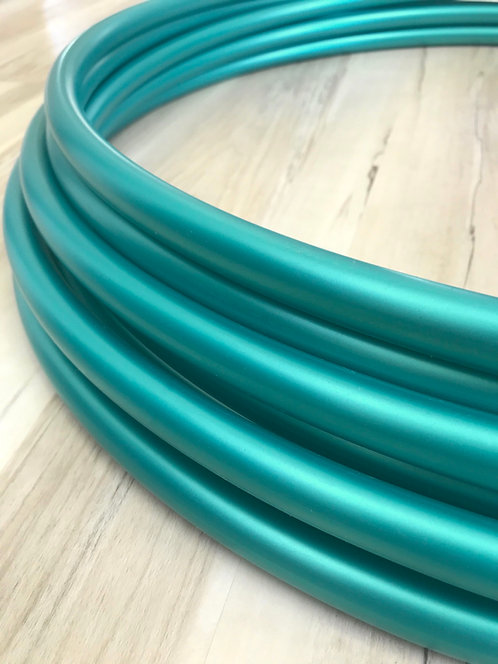 Metallic Teal Shadow Pearl Colored Polypro Hoop