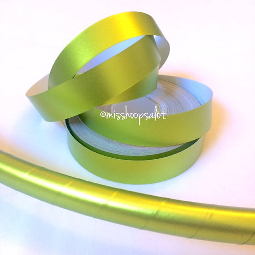 Citrus Satin Luster Taped Hoop