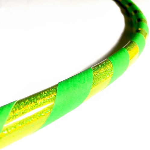 'Lemon Lime' Beginner/Fitness Hoop