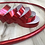 Thumbnail: Ruby Red Rainbow Taped Hoop