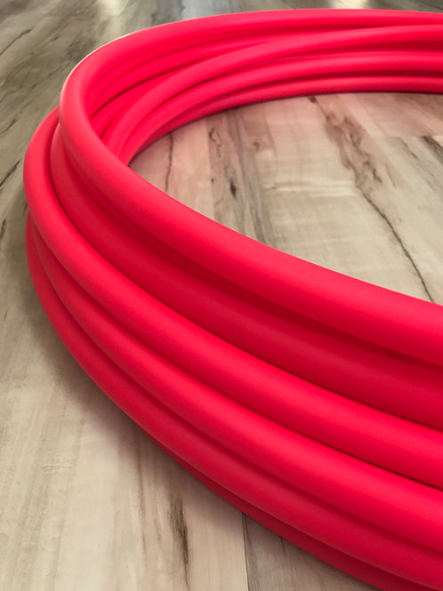 "READY TO SHIP: 27"" 3/4"" UV Pink Polypro Hoop"