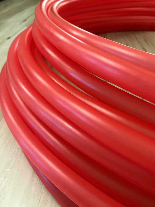 Translucent Red Colored Polypro Hoop