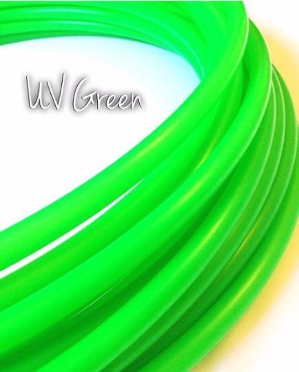 """1/2"""" UV Green Polypro Hoop"""