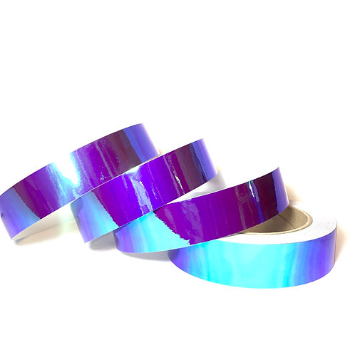 Purple Orchid Color Shifting Taped Hoop