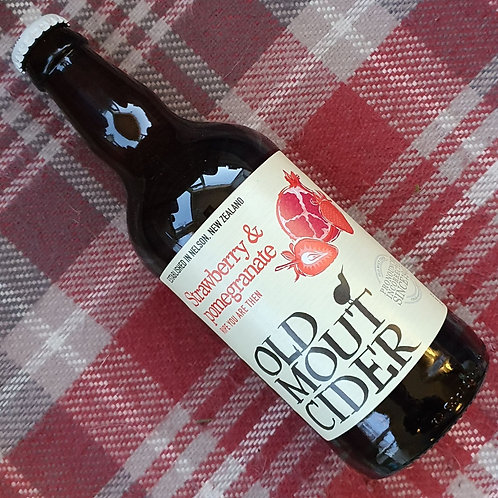Old Mout Strawberry & Pomegranate Cider, 500ml