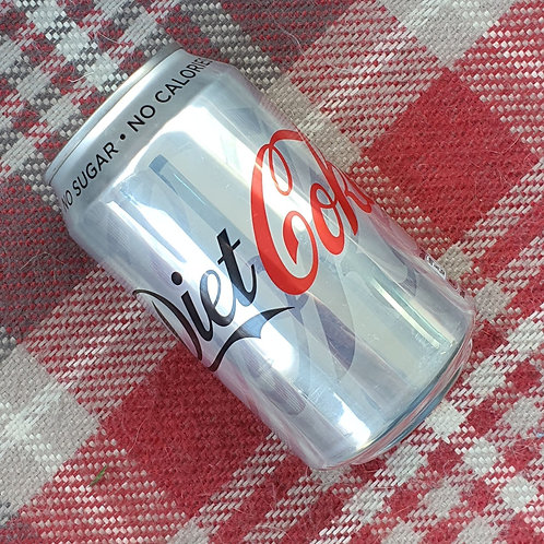 4 x Diet Coke Can, 330ml
