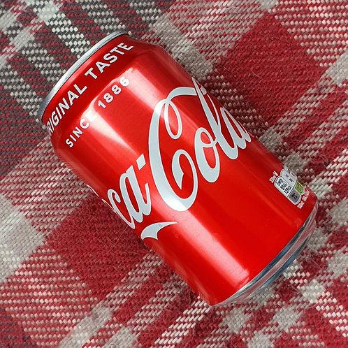 4 x Coke Can, 330ml