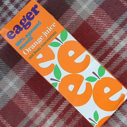 Eager Orange Juice, 1 litre