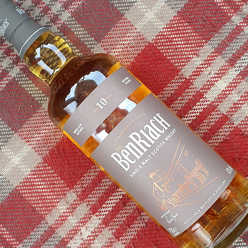 BenRiach 10 Year Old Single Malt Whisky, 70cl