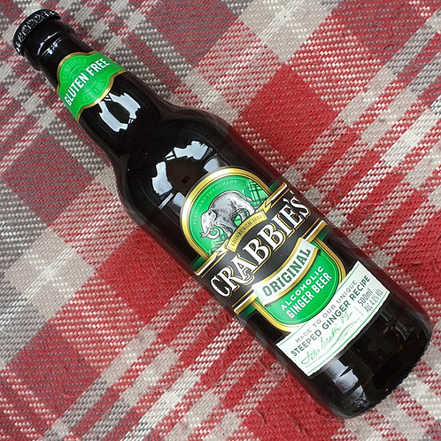 Crabbies Alcoholic Ginger Beer, 500ml