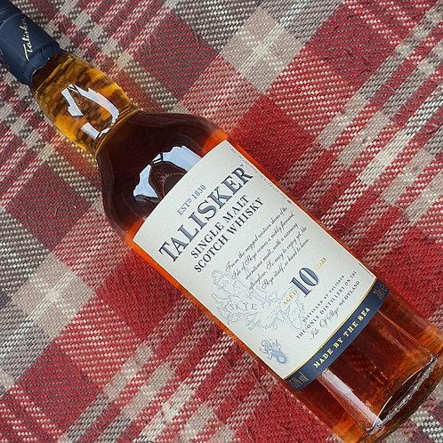 Talisker 10 Year Old Single Malt Whisky, 70cl