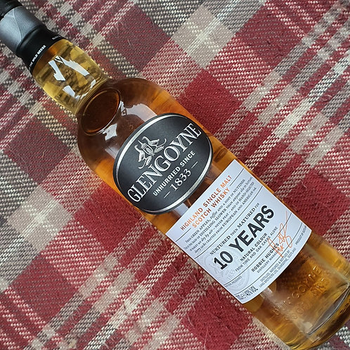Glen Goyne 10 Year Old Single Malt Whisky, 70cl