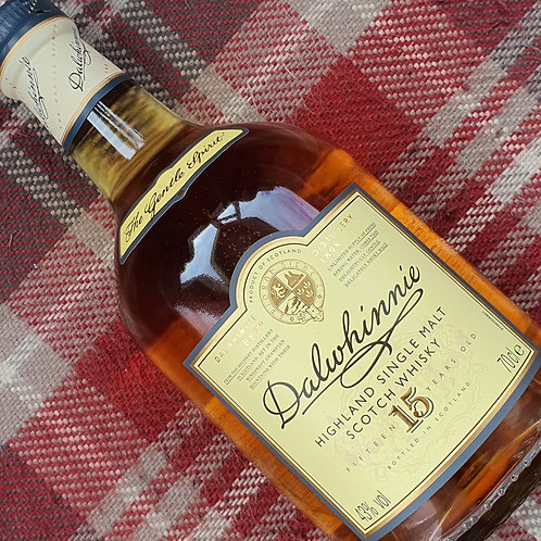 Dalwhinnie 15 Year Old Single Malt Whisky, 70cl