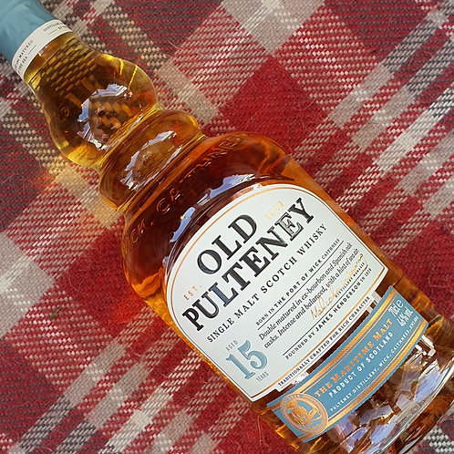Old Pulteney 15 Year Old Single Malt Whisky, 70cl