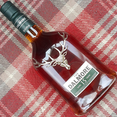 Dalmore 15 Year Old Single Malt Whisky, 70cl