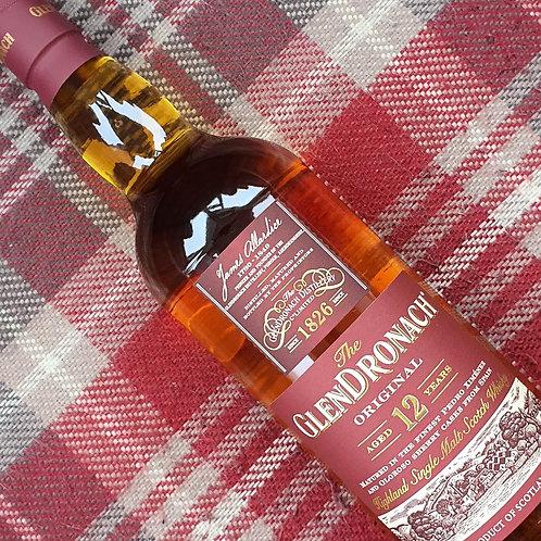 Glendronach 12 Year Old Single Malt Whisky, 70cl