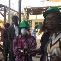 Mme Yaye Néné Camara et M. Pape Yoro Camara de la Direction des ventes