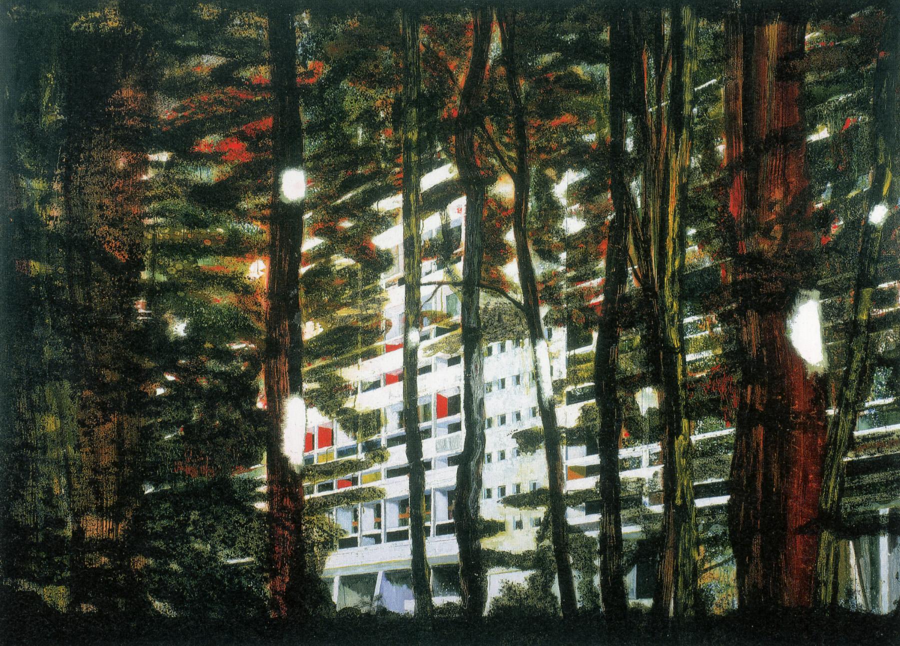 Peter, Doig,  Concrete Cabin II, 199