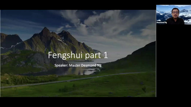 Online Fengshui Talk Series Part 1