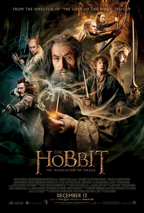 BACK ON MIDDLE EARTH: THE HOBBIT, The desolation of Smaug