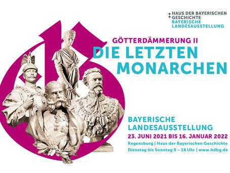"""Ausstellung """"Götterdämmerung II - Die letzten Monarchen"""""""