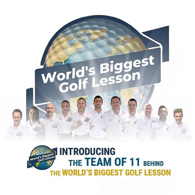 Pea Wea Golf was 1 of 11 Founders of the Worlds Biggest Golf Lesson 05/05/2020