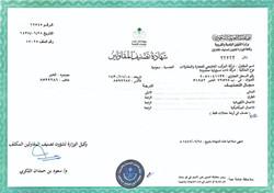 Grade A Certificate