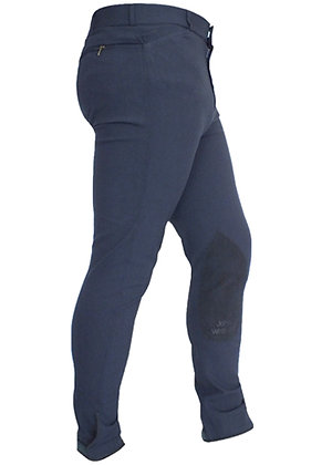 B022- JW Clarino Self Seat Breeches