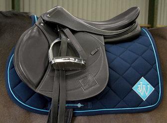 SC028- JW Diamond Saddle Cloth