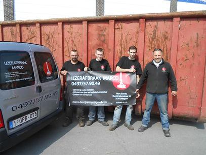 IJzerafbraak Marco team