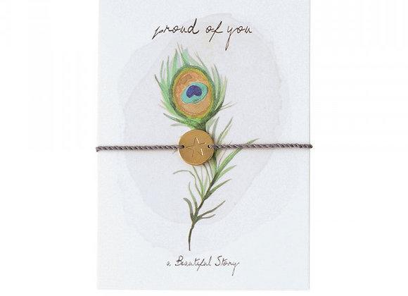 Jewelry Postcard Peacock