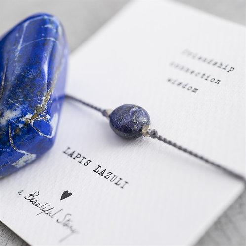 Gemstonecard Lapis Lazuli
