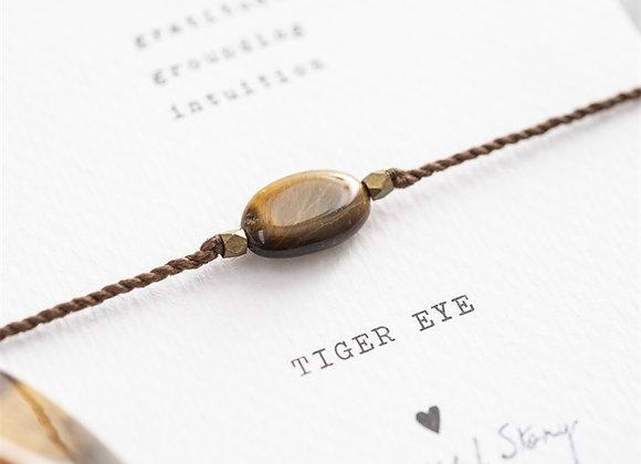 Gemstonecard Tiger Eye