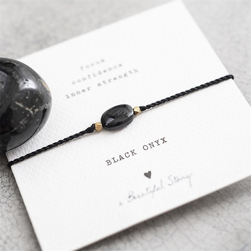 Gemstonecard Black Onyx